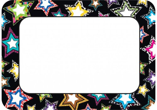 Teacher Created Resources Fancy Stars Name Tags/Labels