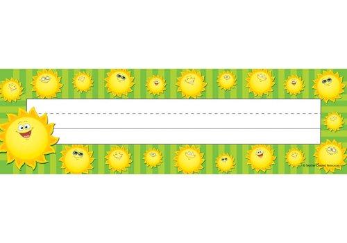 "Teacher Created Resources Sun Name Plates 11 1/2"""