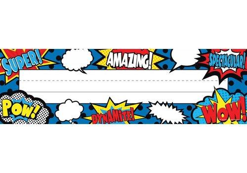 Teacher Created Resources Superhero Flat Name Plates