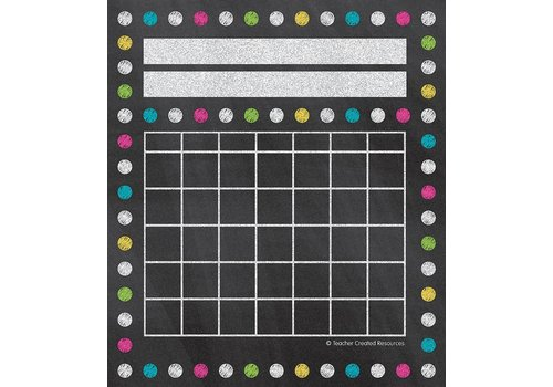 Teacher Created Resources Chalkboard Brights Incentive Charts