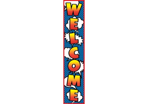 Teacher Created Resources Superhero Welcome Banner