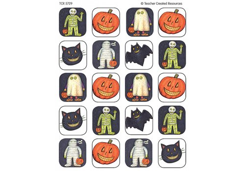 Teacher Created Resources Halloween Stickers