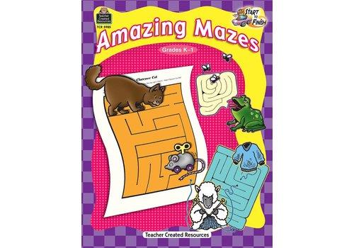 Teacher Created Resources Start to Finish: Amazing Mazes (Gr. K-1)