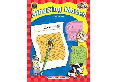 Teacher Created Resources Start to Finish: Amazing Mazes (Gr. 1-2)