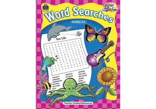 Teacher Created Resources Start to Finish: Word Searches (Gr. 2-3)
