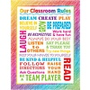 Teacher Created Resources Colorful Scribble Our Classroom Rules Chart