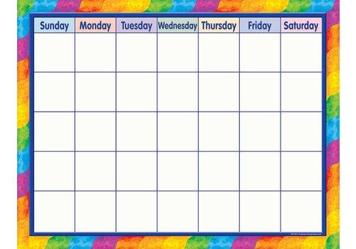 Teacher Created Resources Rainbow Calendar Chart *