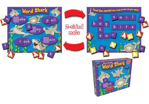 Teacher Created Resources Word Shark: Word Chunks Game