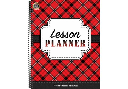 Teacher Created Resources Plaid Lesson Planner