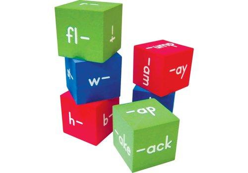 Teacher Created Resources Foam Word Families Cubes