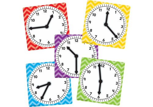 Teacher Created Resources Clocks 5-pack