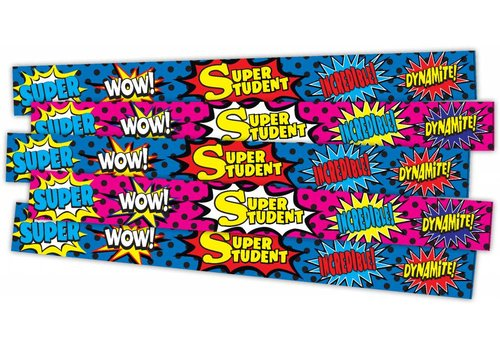 Teacher Created Resources Superhero Super Student Slap Bracelets