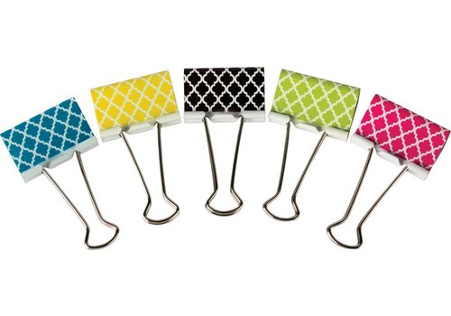 Teacher Created Resources Moroccan Large Binder Clips
