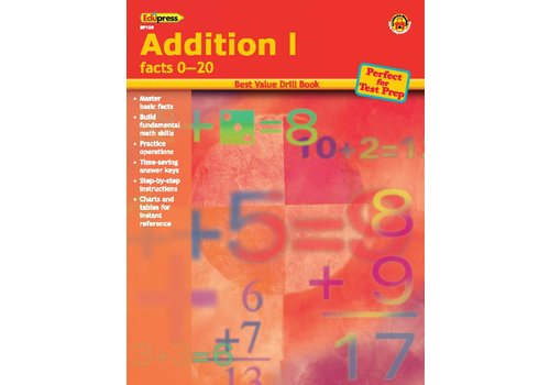 Teacher Created Resources Addition 1 Drill Book * (D)