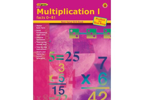Teacher Created Resources Multiplication 1 Drill Book