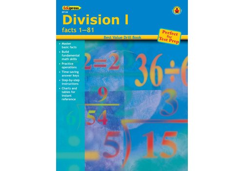 Teacher Created Resources Division 1 Drill Book 1-81