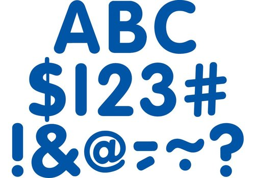 "Teacher Created Resources Blue Classic 2"" Letters Uppercase Pack"