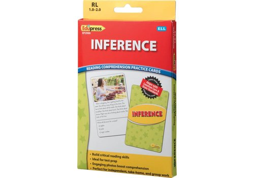 Teacher Created Resources Inference Comprehension Cards, RL 1-2