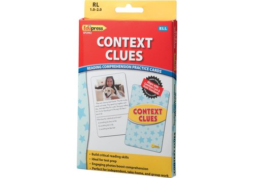 Teacher Created Resources Context Clues Comprehension Cards, RL 1-2
