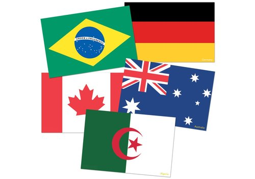 Teacher Created Resources International Flags Accents