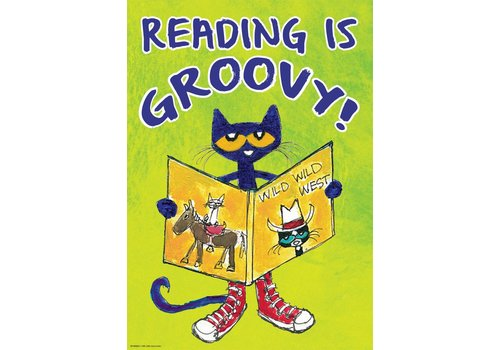 Teacher Created Resources Reading is Groovy - Pete the Cat Poster*