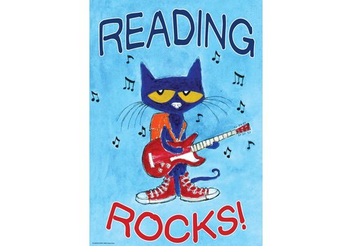 Teacher Created Resources Reading Rocks Pete the Cat Poster*