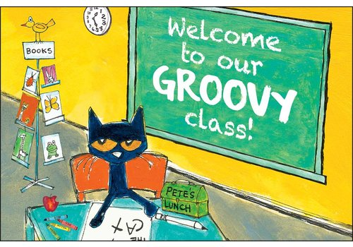 Teacher Created Resources Welcome to Our Groovy Class Pete the Cat Postcards