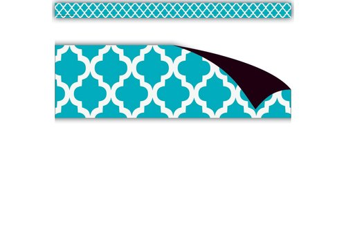 Teacher Created Resources Teal Moroccan Magnetic Strips