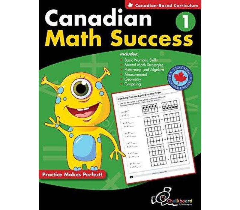 Canadian Math Success Grade 1 *