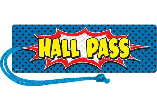 Teacher Created Resources Superhero Magnetic Hall Pass