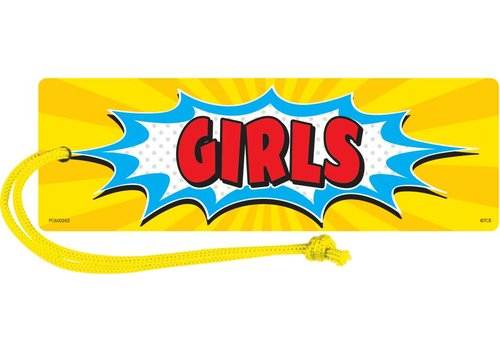 Teacher Created Resources Superhero Magnetic Girls Pass