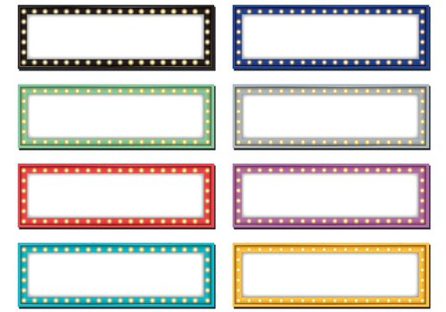 Teacher Created Resources Marquee Labels Magnetic Accents