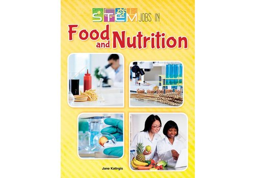 Teacher Created Resources STEM JOBS BOOKS  - Food & Nutrition