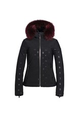 Goldbergh Silvia Real Raccoon Fur Jacket