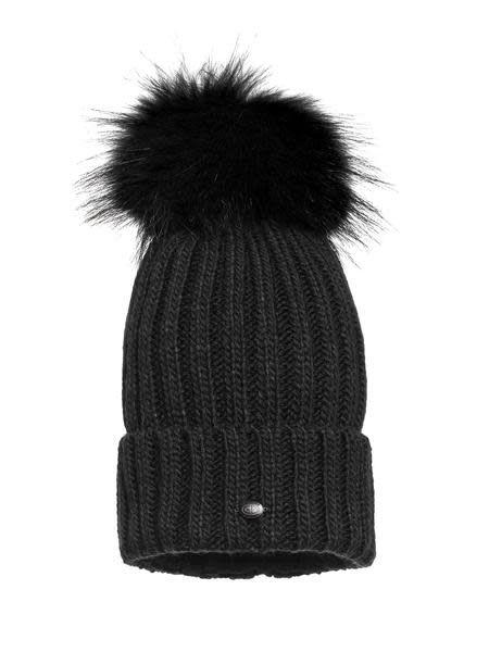 Goldbergh Naara Hat Real Raccoon Fur