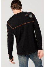 ALP N ROCK SKI PATCH MEN'S CREW SHIRT