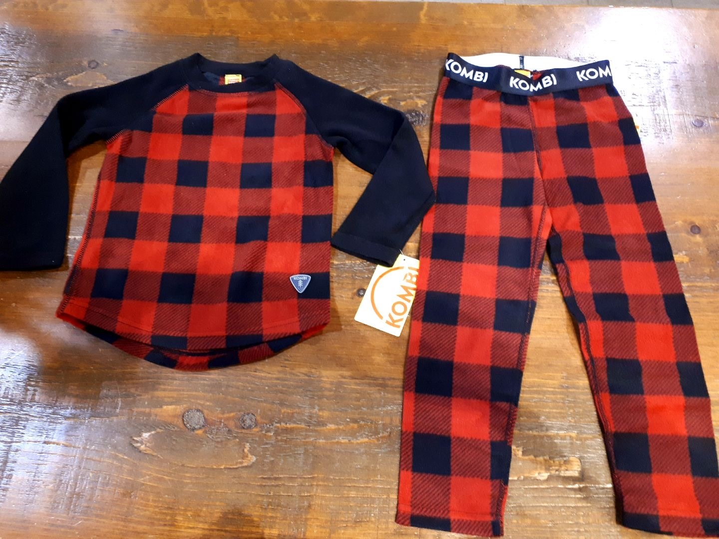 KOMBI COZY FLEECE SET CHILDREN