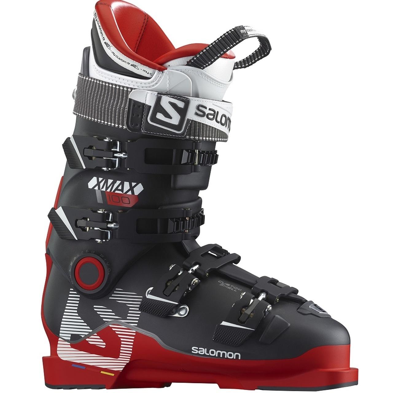 Salomon X-Max 100 Red-Black