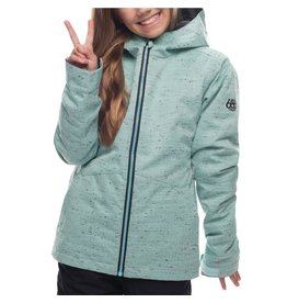 686 Rumor Insulated Jacket-Seaglass Slub
