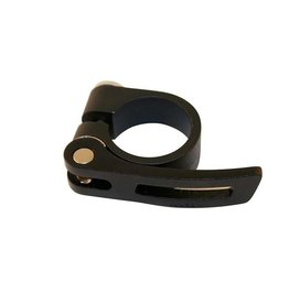 Evo EVO, Seatpost clamp with quick release, 31.8mm, Black