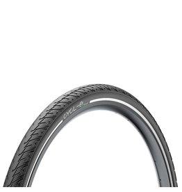 Pirelli Tire LLC Pirelli Cycl-e XT Sport Tire - 700 x 47, Clincher, Wire, Black, Reflective