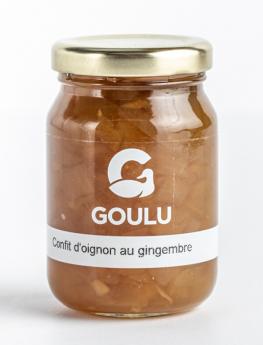 CONFIT D'OIGNON AU GINGEMBRE