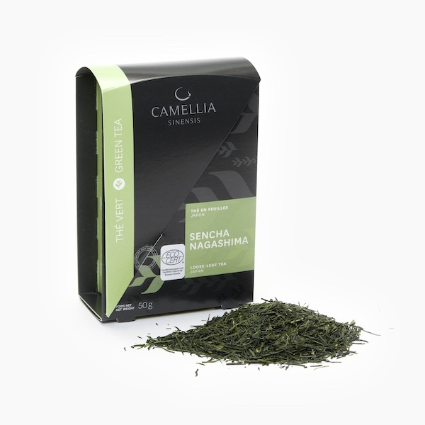SENCHA NAGASHIMA BIOLOGIQUE (Boîte thé en feuilles)