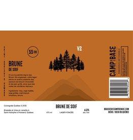 V2 Brune de soif - Canette 473 ml