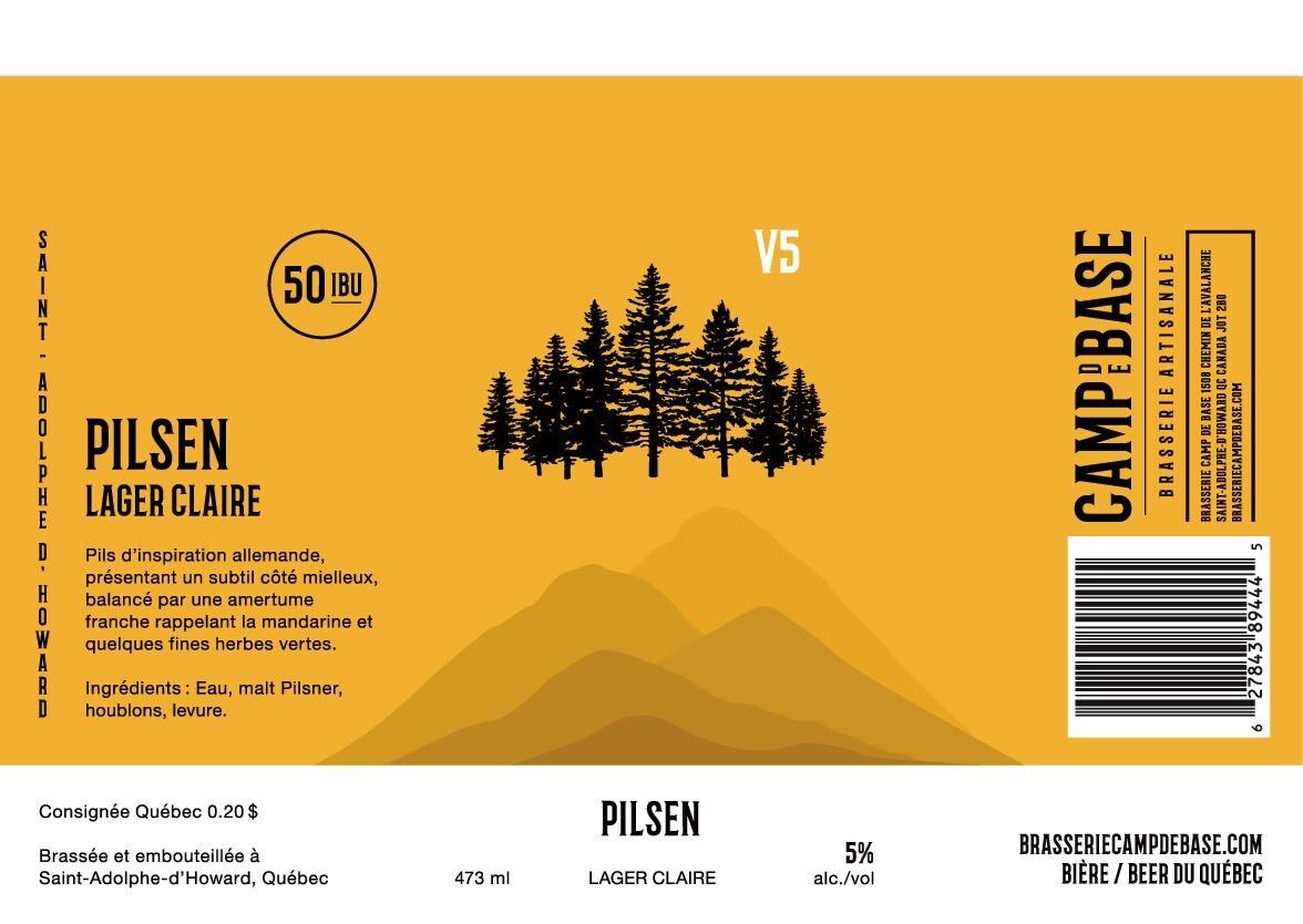 V5 Pilsen - Canette 473 ml