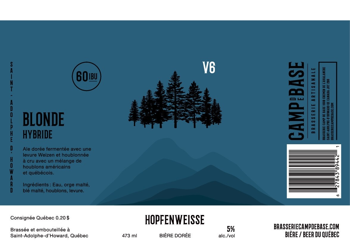 V6 Hopfenweisse - Canette 473 ml