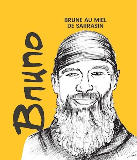 BRUNO - Brune au miel de sarrasin