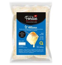 Fondue au fromage L'Alliance (300 g.)