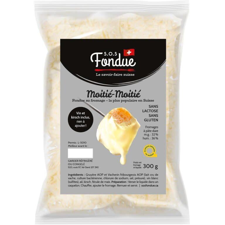 Fondue au fromage Moitié-Moitié (300 g.)