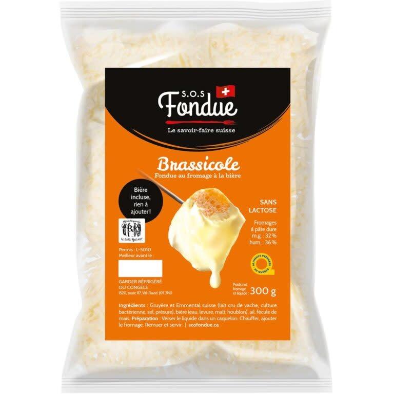 Fondue au fromage Brassicole (300 g.)